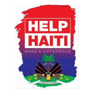 Cartão Postal Haiti_Help