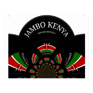 Cartão Postal Hakuna Matata Jambo Kenya