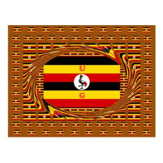 Cartão Postal Hakuna surpreendente bonito Matata Uganda bonito