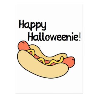 Cartão Postal Halloweenie feliz!