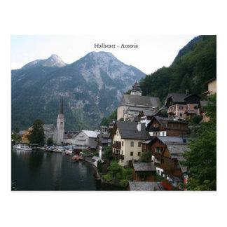 Cartão Postal Hallstatt - Áustria