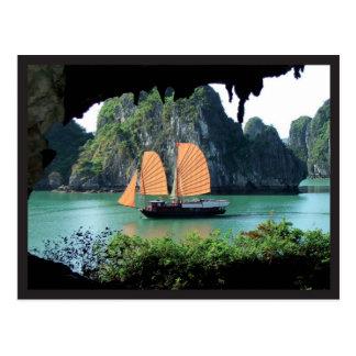 Cartão Postal Halong Bay - Postal card
