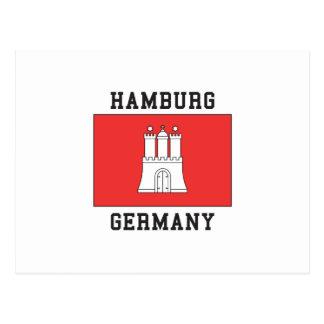 Cartão Postal Hamburgo Alemanha