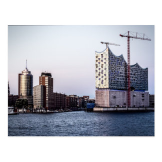 Cartão Postal Hamburgo Elbphilharmonie