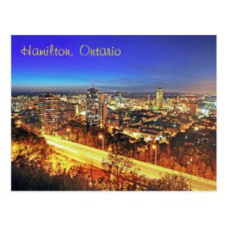 Cartão Postal Hamilton, Ontário, Canadá