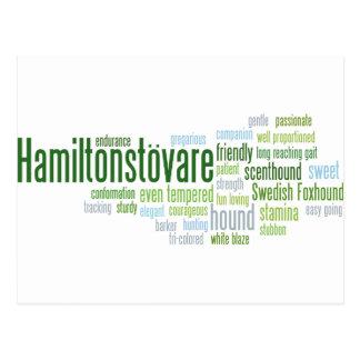 Cartão Postal Hamiltonstovare