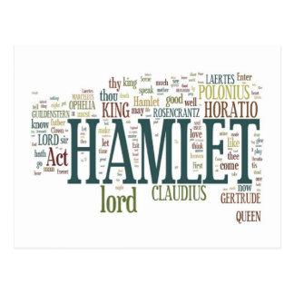 Cartão Postal Hamlet!