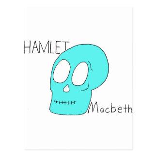 Cartão Postal Hamlet Macbeth