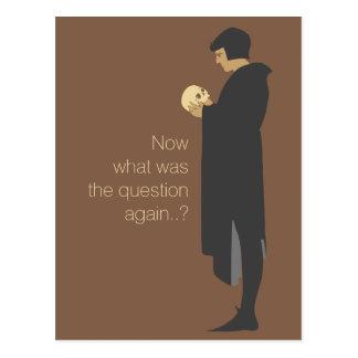 Cartão Postal Hamlet que guardara um crânio CC0720 Beggarstaffs