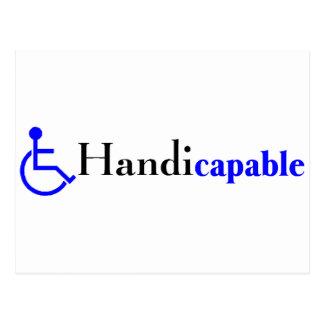 Cartão Postal Handicapable (cadeira de rodas)