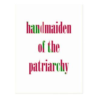 Cartão Postal Handmaiden do patriarcado