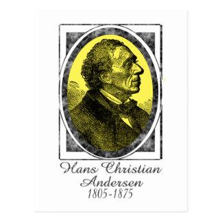 Cartão Postal Hans Christian Andersen