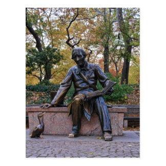 Cartão Postal Hans Christian Andersen, Central Park, NYC