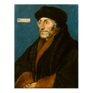 Cartão Postal Hans Holbein o Erasmus mais novo de Rotterdam