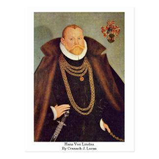 Cartão Postal Hans Von Lindau Cranach J. Lucas