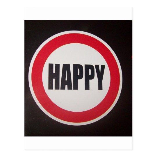 Cartão Postal Happy