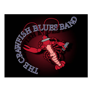 Cartão Postal Harmônica da banda de azuis dos lagostins