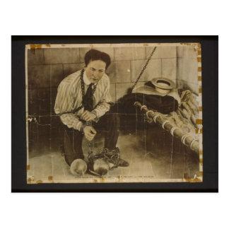 Cartão Postal Harry Houdini