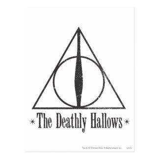 Cartão Postal Harry Potter | o Deathly Hallows o emblema