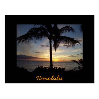 Cartão Postal Havaí qualquer um, Honolulu