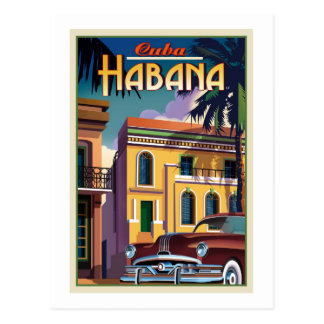 Cartão Postal Havana Cuba