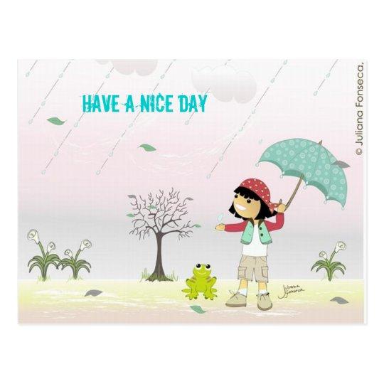 Cartão Postal Have a Nice Day