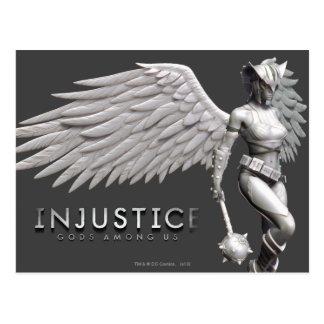 Cartão Postal Hawkgirl