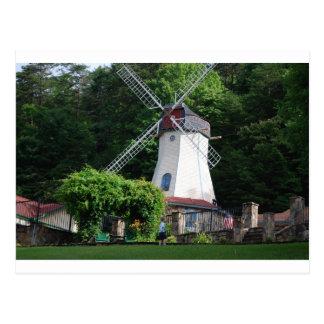 Cartão Postal Helen, moinho de vento de GA