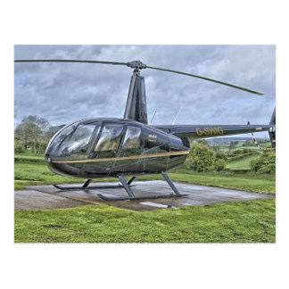 Cartão Postal Helicóptero de Robinson R44