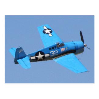 Cartão Postal Hellcat de Grumman F6F