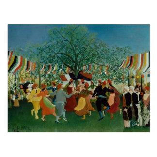 Cartão Postal Henri Rousseau - um Centennial da independência