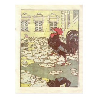 Cartão Postal Heorhiy Narbut-Como os ratos enterraram o gato