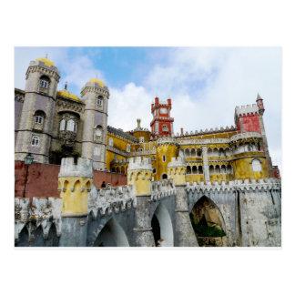 Cartão Postal Herança do UNESCO de Lisboa Portugal do palácio de