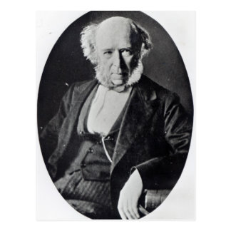 Cartão Postal Herbert Spencer