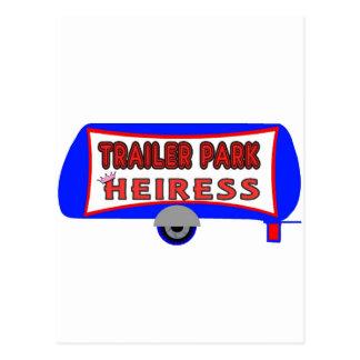 Cartão Postal Herdeira do parque de caravanas