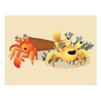 Cartão Postal Hermy e Rover