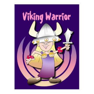 Cartão Postal Heroína de Viking