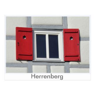 Cartão Postal Herrenberger persiana