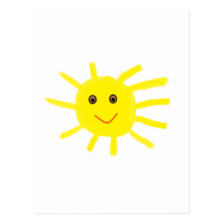Cartão Postal Hey luz do sol 85