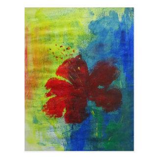 Cartão Postal hibiscus