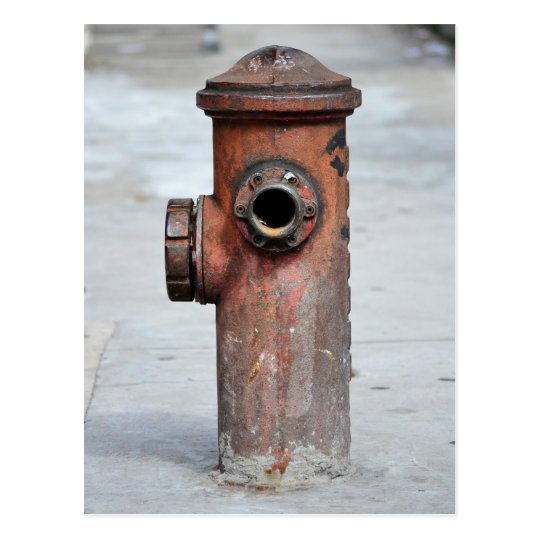Cartão Postal - Hidrante Vintage - São Paulo|Nº13