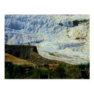 Cartão Postal Hierapolis-Pamukkale - local do património mundial