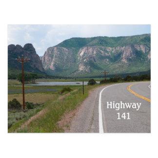Cartão Postal Highway141