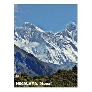 Cartão Postal HIMALAYA - uma de 1000 vistas de NEPAL