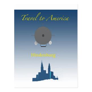 Cartão Postal Hindenburg