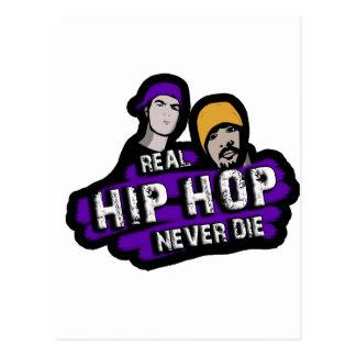 Cartão Postal Hip Hop real nunca morre