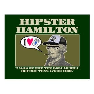 Cartão Postal Hipster Hamilton