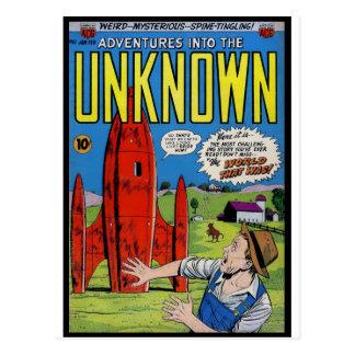 Cartão Postal História em quadrinhos do horror: Nos 61.