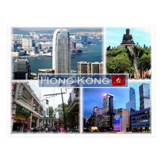 Cartão Postal HK Hong Kong -
