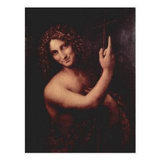 Cartão Postal Hl de Leonardo da Vinci. Der T de Johannes? ufer